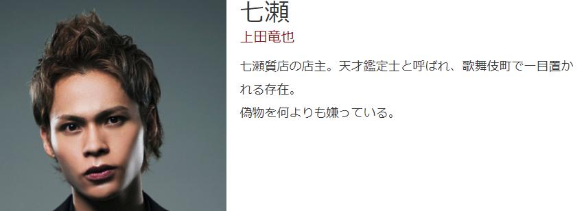 新宿セブン主演